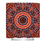 Kaleidoscope 40 Shower Curtain