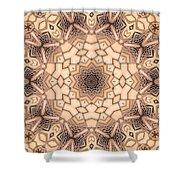 Kaleidoscope 44 Shower Curtain