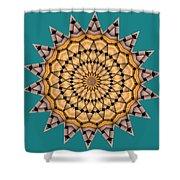 Kaleidoscope 7 Shower Curtain