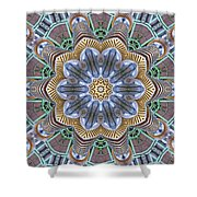 Kaleidoscope 73 Shower Curtain