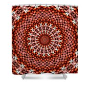 Kaleidoscope 8 Shower Curtain