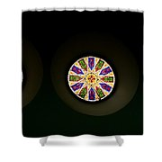 Kaleidoscope Window  Shower Curtain