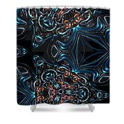 Kalidescope Abstract Fx Shower Curtain