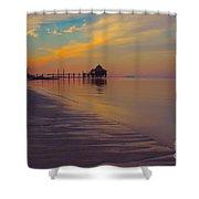 Kamalame Beach Shower Curtain