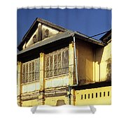 Kampot Old Colonial 01 Shower Curtain