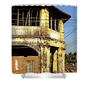 Kampot Old Colonial 03 Shower Curtain