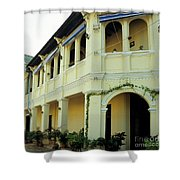 Kampot Old Colonial 08 Shower Curtain