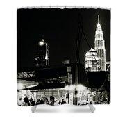 Kampung Baru Petronas Towers Shower Curtain
