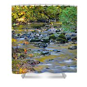 Kanaka Creek In The Fall Shower Curtain