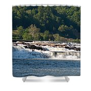 Kanawah Falls I - Spring Shower Curtain