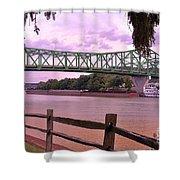 Kanawha River  Shower Curtain