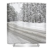 Kancamagus Scenic Byway - White Mountains New Hampshire Usa Shower Curtain by Erin Paul Donovan