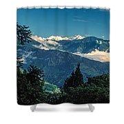 Kanchenjunga Shower Curtain