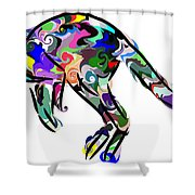 Kangaroo 2 Shower Curtain