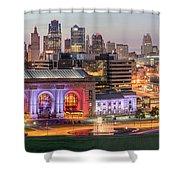 Kansas City 2 Shower Curtain