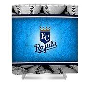 Kansas City Royals Shower Curtain