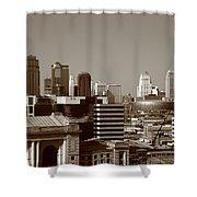 Kansas City Skyline 10 Shower Curtain