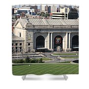Kansas City - Union Station Shower Curtain
