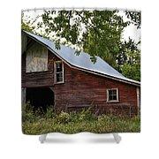 Kansas Hay Barn Shower Curtain