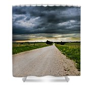 Kansas Storm In June Shower Curtain