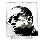 Kanye West Shower Curtain