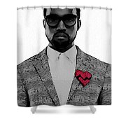 Kanye West  Shower Curtain