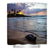 Kapa'a Kauai Sunrise Shower Curtain
