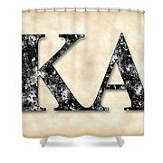 Kappa Alpha Society - Parchment Shower Curtain