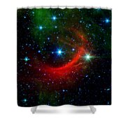 Kappa Cassiopeiae Shock Wave Shower Curtain