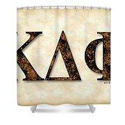 Kappa Delta Phi - Parchment Shower Curtain