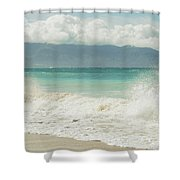 Kapukaulua - Purely Celestial Shower Curtain