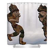 Karagoz Monument Shower Curtain