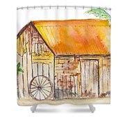 Karanambo Shed Shower Curtain