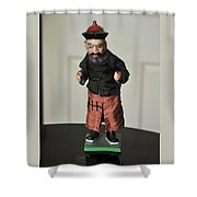 Karate Kid Shower Curtain