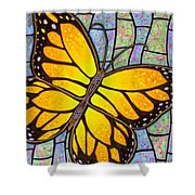 Karens Butterfly Shower Curtain