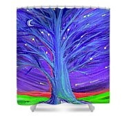 Karen's Tree 1 Shower Curtain