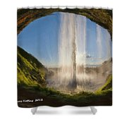 Karen's Waterfalls Shower Curtain