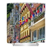 Karlovy Vary Shower Curtain