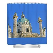 Karlskirche - Vienna Shower Curtain