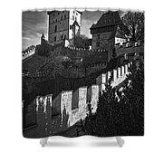Karlstejn Castle Shower Curtain