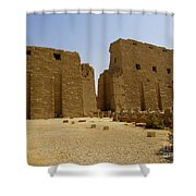 Karnak Temple 04 Shower Curtain