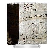 Karnak Temple 11 Shower Curtain