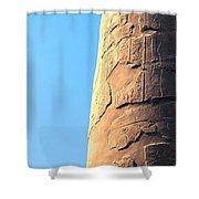 Karnak Temple 21 Shower Curtain