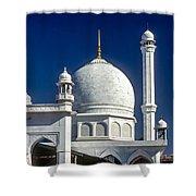 Kashmir Mosque Shower Curtain by Steve Harrington