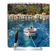 Kastellorizo Island Shower Curtain