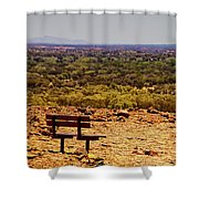 Kata Tjuta V2 Shower Curtain
