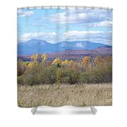 Katahdin From Staceyville 3 Shower Curtain