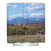 Katahdin From Staceyville 4 Shower Curtain