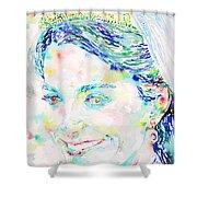 Kate Middleton Portrait.2 Shower Curtain