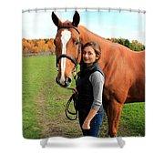 Katherine Pal 12 Shower Curtain